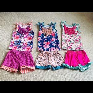 Cheeky Plum pajama trio